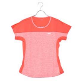 エレッセ ellesse レディース テニス 半袖 Tシャツ フレンチスリーブメランジクルー EW08108