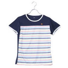 エレッセ ellesse レディース テニス 半袖 Tシャツ Sスリーブプラクティスクルー EW08110