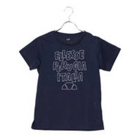エレッセ ellesse レディース テニス 半袖 Tシャツ ハンドライティングティー EW18106