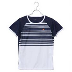 エレッセ ellesse レディース テニス 半袖 Tシャツ Sスリーブプラクティスクルー EW08111