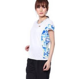エレッセ ellesse レディース テニス 半袖 Tシャツ SSツアープラスクレリッククルー EW08122