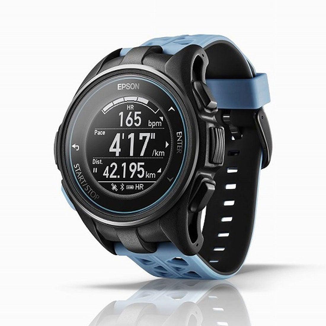 ロコンド 靴とファッションの通販サイトエプソンepsonユニセックス陸上/ランニング時計GPSランニングウォッチJ-300T5046