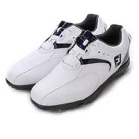 フットジョイ FootJoy ゴルフシューズ 16 EXL スパイクボア 45144W245 91 (ホワイト×ネイビー)