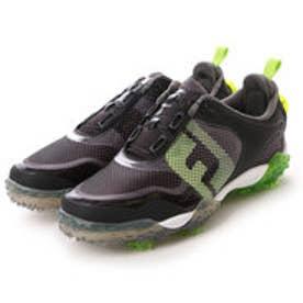 フットジョイ FootJoy ゴルフシューズ 16 フリースタイルボア BK/LI/GY 57335W245 101 (ブラック×グリーン)