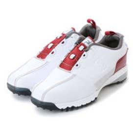 フットジョイ FootJoy メンズ ゴルフ ダイヤル式スパイクシューズ 17 ウルトラFIT ボア WT/RD 9248751442 50