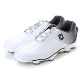 フットジョイ FootJoy メンズ ゴルフ ダイヤル式スパイクシューズ 17 DNA ボア WT/BK 9248752067 48