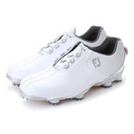 フットジョイ FootJoy メンズ ゴルフ ダイヤル式スパイクシューズ 17 DNA ボア WT/SV 9248751855 45