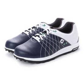 フットジョイ FootJoy メンズ ゴルフ シューレース式スパイクレスシューズ 18 FJ トレッド WT/NV 9248810316 59