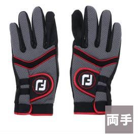 フットジョイ FootJoy メンズ ゴルフ グローブ 18 ウェザーグリップEXT 9683193297 (グレー)