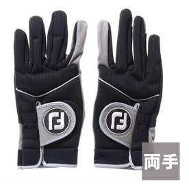 フットジョイ FootJoy ゴルフグローブ  FJ FGWX WG      ブラック (ブラック)