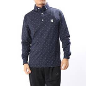 フットジョイ FootJoy メンズ ゴルフ 長袖シャツ サーマルジャージーシャツ 9248953129 (ネイビー)