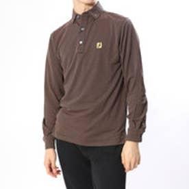 フットジョイ FootJoy メンズ ゴルフ 長袖シャツ ジグザグジャカードシャツ 9248951774 (ブラック)