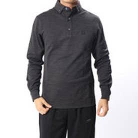 フットジョイ FootJoy メンズ ゴルフ 長袖シャツ ジオメトリックジャカードシャツ 9248950975 (ブラック)