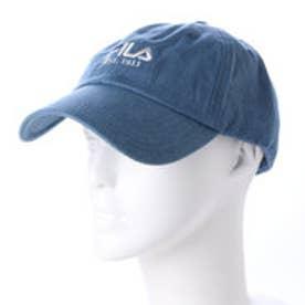 フィラ FILA キャップ FL C TWILL 6P CAP 165713517  (ダークブルー)