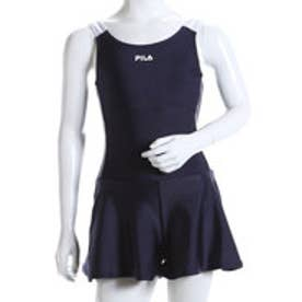 フィラ FILA ジュニア 水泳 スクール水着 FILA ガールズキュロットワンピース 124685【返品不可商品】
