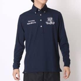 【アウトレット】フィラ FILA ゴルフシャツ 長袖 785-506 ネイビー (ネイビー)