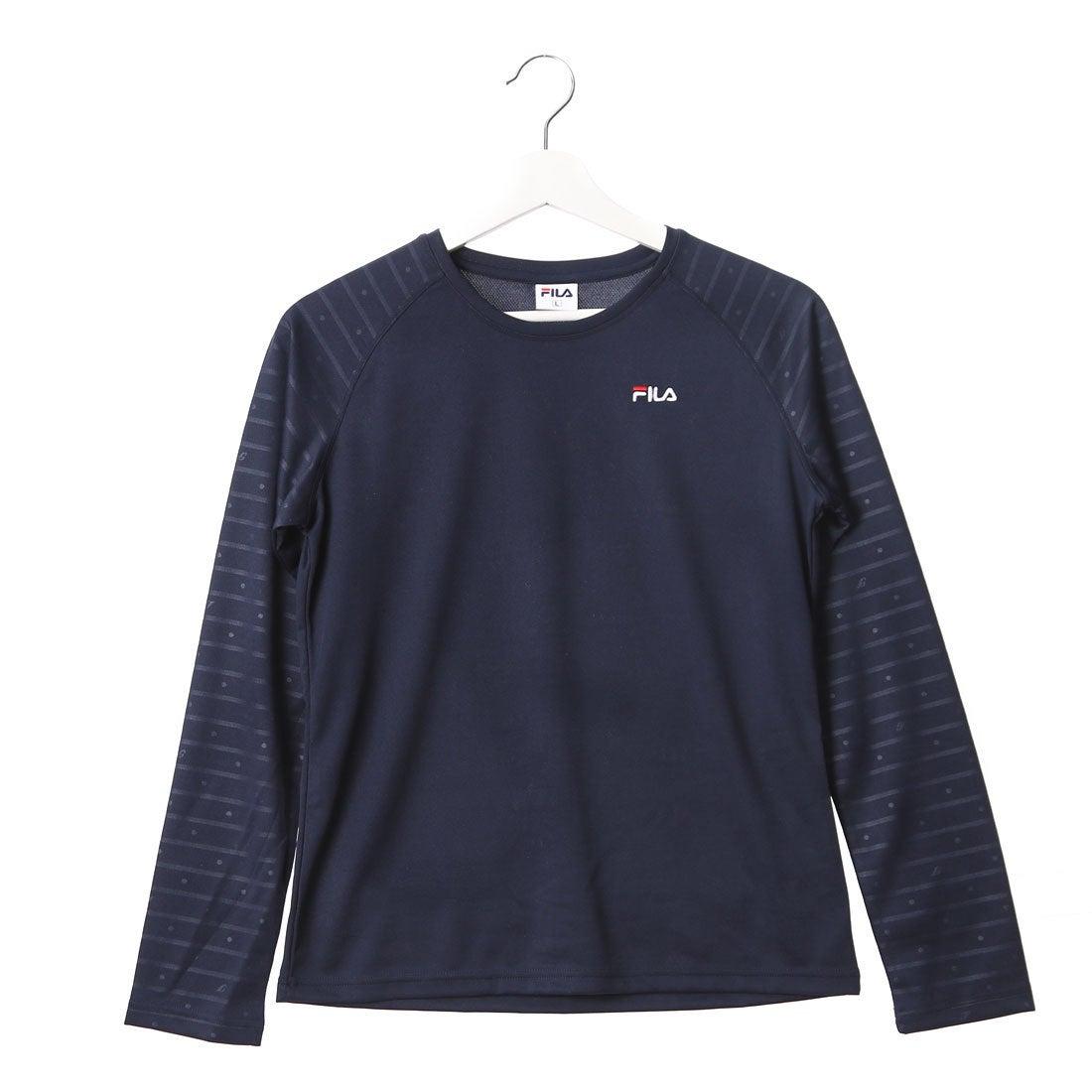fd7f640b1b2 フィラ FILA Tシャツ FL-9A26015TL ネイビー (ネイビー) -スポーツ&アウトドア通販 ロコンドスポーツ (LOCOSPO)