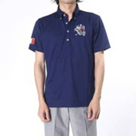 フィラ FILA ゴルフシャツ メンズ ハンソデシャツ 746635  (ネイビー)