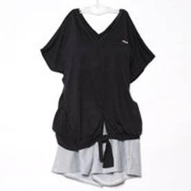 フィラ FILA レディース マリン 水着 ゆったりTシャツ・ビキニ 4点セット 228705【返品不可商品】