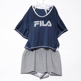フィラ FILA レディース マリン 水着 ロゴプリントTシャツ・ビキニ 4点セット 228707【返品不可商品】