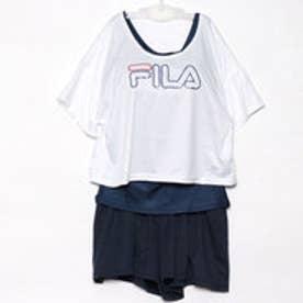 フィラ FILA レディース マリン 水着 ショートTシャツ・タンキニ 4点セット 228708【返品不可商品】
