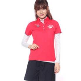 フィラ FILA レディース ゴルフ セットシャツ インナーセット半袖シャツ 798500 (ピンク)