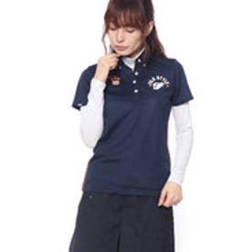 フィラ FILA レディース ゴルフ セットシャツ インナーセット半袖シャツ 798500 (ネイビー)