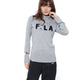 フィラ FILA レディース ゴルフ 長袖セーター セーター 798703 (グレー)
