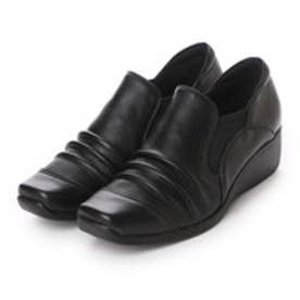 【アウトレット】グリーンシューズ Green Shoes カジュアルシューズ 本革カジュアルシューズ 1568 ブラック 4194 (ブラック)