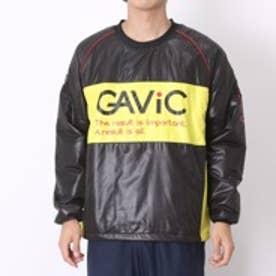 【アウトレット】ガビック GAViC フットサル中綿入ピステジャケット 中綿ピステトップ GA1117 ブラック×イエロー (ブラック×イエロー)