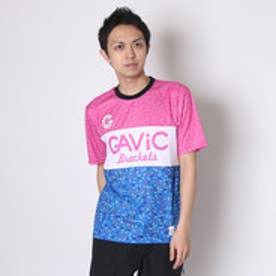 ガビック GAViC サッカー/フットサル 半袖シャツ ヘイル柄昇華プラクティスシャツ GA8166