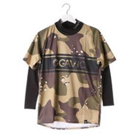 ガビック GAViC ユニセックス サッカー/フットサル レイヤードシャツ 昇華半袖プラクティスシャツ&インナーセット GA8010