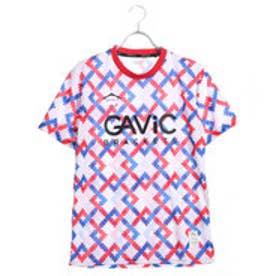 ガビック GAViC サッカー/フットサル 半袖シャツ 昇華プラシャツ クロスステッチ GA8054
