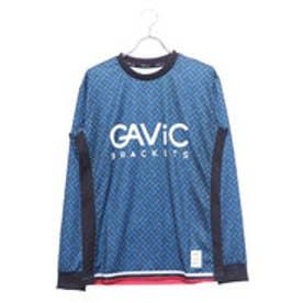 ガビック GAViC サッカー/フットサル 長袖シャツ ロングプラシャツ クロスステッチ GA8064