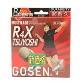 ゴーセン GOSEN バドミントンストリング R4X ツヨシ BS160-W