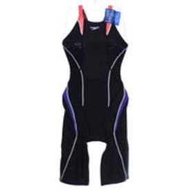 スピード GW SPEED レディース 水泳 競泳水着 FLEX Cube セミオープンバックニースキン SD47H042【返品不可商品】