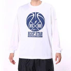 フープスター Hoopstar ユニセックス バスケットボール 長袖Tシャツ TLHS150-w