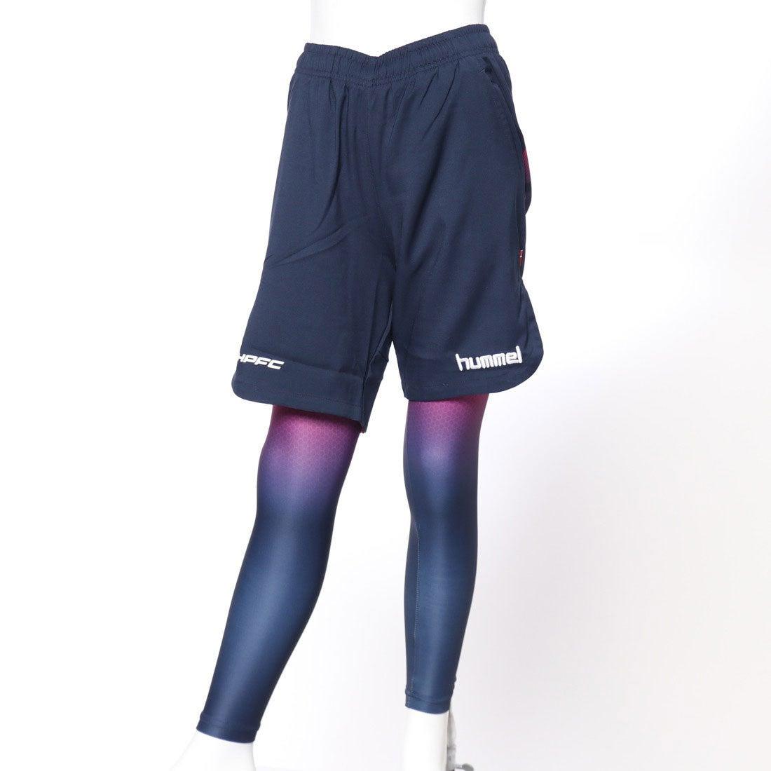 ロコンド 靴とファッションの通販サイトヒュンメルhummelジュニアサッカー/フットサルレイヤードパンツジュニアプラパンツ・インナーセットHJP2109
