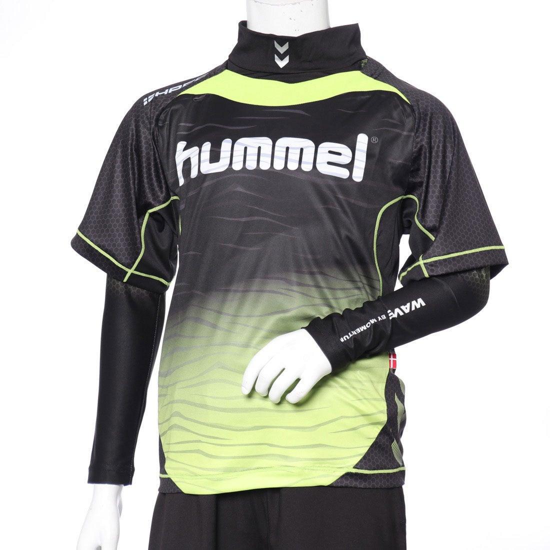 ロコンド 靴とファッションの通販サイトヒュンメルhummelジュニアサッカー/フットサルレイヤードシャツジュニアプラシャツ・インナーセットHJP7109
