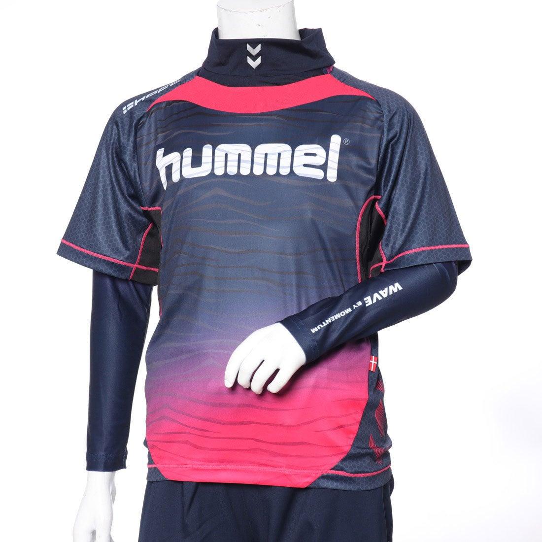 ロコンド 靴とファッションの通販サイトヒュンメル hummel ジュニア サッカー/フットサル レイヤードシャツ ジュニアプラシャツ・インナーセット HJP7109