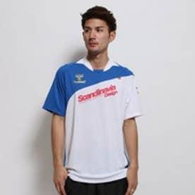 【アウトレット】ヒュンメル Hummel サッカープラクティスシャツ HAP1119 ホワイト