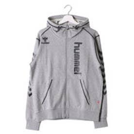ヒュンメル HUMMEL ユニセックス ハンドボール 長袖プラクティスシャツ スエットフードジャケット HAP8165