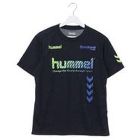 ヒュンメル HUMMEL ユニセックス サッカー/フットサル 半袖シャツ プラクティスTシャツ HAP4117