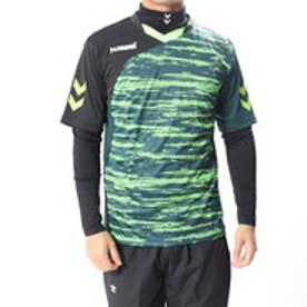 ヒュンメル hummel サッカー/フットサル レイヤードシャツ アッタカインナー+プラシャツセット HAP7110