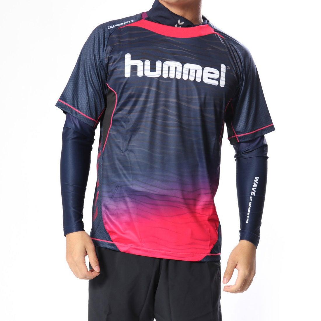 ロコンド 靴とファッションの通販サイトヒュンメルhummelサッカー/フットサルレイヤードシャツHPFC-プラシャツ・インナーセットHAP7109