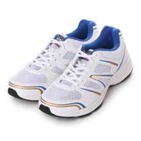 イグニオ IGNIO ランニングシューズ IG-4R3004SHWHBL IG-4R3004SHWHBL ホワイト 0129 (ホワイト×ブルー)