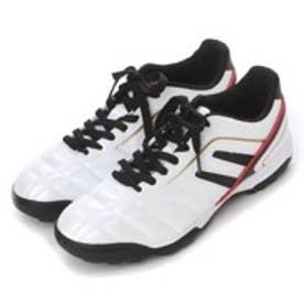 イグニオ IGNIO サッカートレーニングシューズ IG-0S1024 WK ホワイト (ホワイト×ブラック)