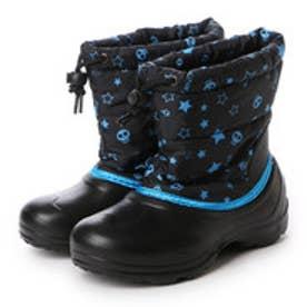 イグニオ IGNIO ウインターシューズ IG5W4044LBB8128 ブラック (ブラック×ブルー)