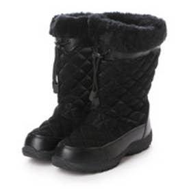 イグニオ IGNIO ウインターシューズ 防寒ブーツ IG-5W2012LL BK ブラック 4001 (ブラック)