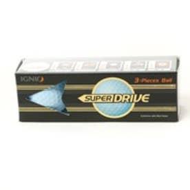 IGNIO イグニオ ゴルフボール SUPERDRIVE スーパードライブ 1スリーブ(3個入り) BLUE